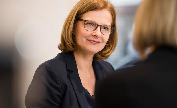 Ulrike Führmann arbeitet als Coach.